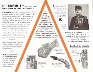 Pierret Saxophone Super 8 1838 RP